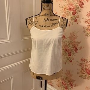 🍒 Banana Republic White Tank Top Cami